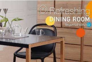 refreshing dining room