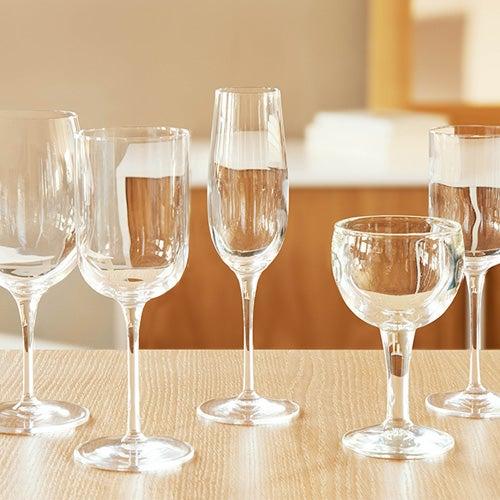 แก้วไวน์ แก้วแชมเปญ