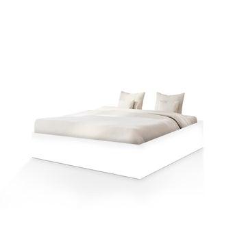 เตียงนอน ขนาด 3.5 ฟุต รุ่น BEDIS สีขาว-01