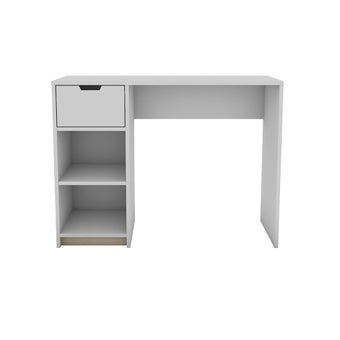 โต๊ะทำงาน รุ่น Whitie สีขาว-ลินเบิร์ก