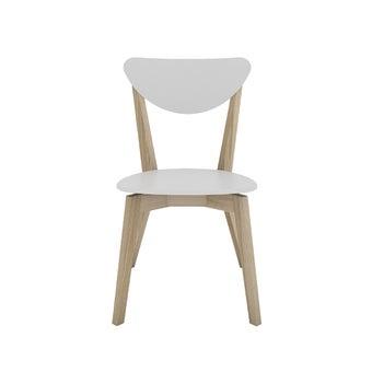 เก้าอี้ รุ่น Veri สีขาว-ลินเบิร์ก