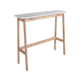 โต๊ะบาร์ รุ่น Buddi สีขาว-ลินเบิร์ก