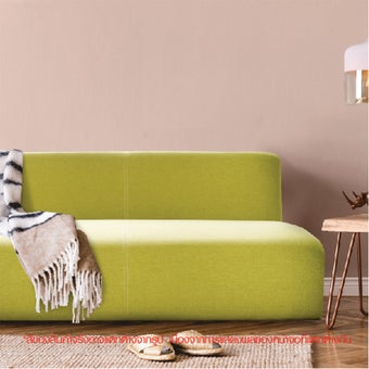 โซฟาผ้า รุ่น Wib-S เบาะผ้าสีเขียว