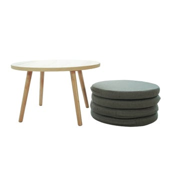โต๊ะกลางพร้อมเบาะรองนั่ง รุ่น Yaho