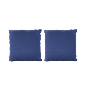 หมอนอิง 2 ชิ้น รุ่น Yeh ผ้าสีน้ำเงิน