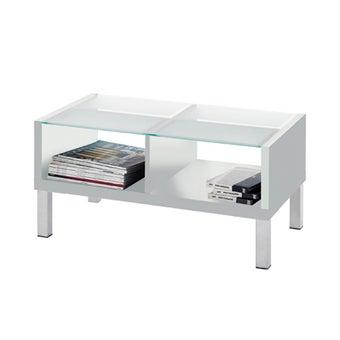 โต๊ะกลาง ขนาด 100 ซม. รุ่น Swiss สีขาว