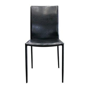 เก้าอี้ทานอาหาร เก้าอี้เหล็กเบาะหนัง รุ่น Yaro-SB Design Square