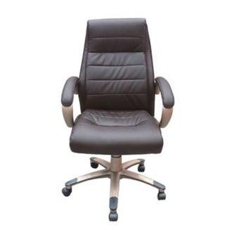 เก้าอี้สำนักงาน รุ่น Unice สีน้ำตาล-01