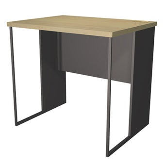 โต๊ะทำงาน ขนาด 80 ซม. รุ่น Able สีลายไม้ธรรมชาติ
