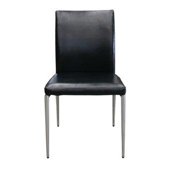 เก้าอี้ทานอาหาร เก้าอี้เหล็กเบาะหนัง รุ่น Muso-SB Design Square
