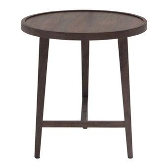 โต๊ะข้าง โต๊ะข้างไม้ล้วน รุ่น Asa สีสีลายไม้ธรรมชาติ-SB Design Square