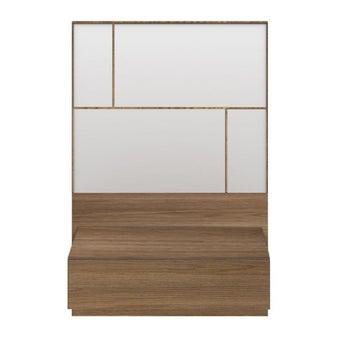 ชุดห้องนอน ตู้ข้างเตียง รุ่น Palazzo สีสีลายไม้ธรรมชาติ-SB Design Square