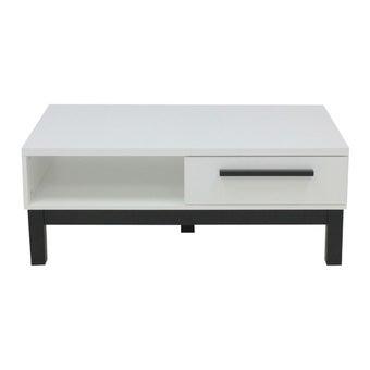 โต๊ะกลาง โต๊ะกลางไม้ล้วน รุ่น Sunza สีสีขาว-SB Design Square