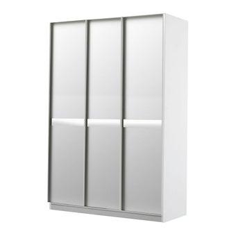 ชุดห้องนอน ตู้เสื้อผ้าบานเปิด รุ่น Meudon สีสีขาว-SB Design Square