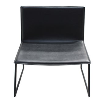 อาร์มแชร์ อาร์มแชร์หนังสังเคราะห์ รุ่น You&Me สีสีดำ-SB Design Square
