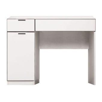 ชุดห้องนอน โต๊ะเครื่องแป้งแบบนั่ง รุ่น Maxio สีสีลายไม้ธรรมชาติ-SB Design Square