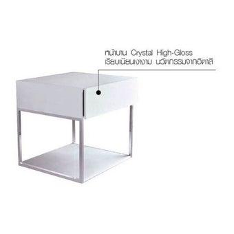 ชุดห้องนอน ตู้ข้างเตียง รุ่น Vogue สีสีขาว-SB Design Square