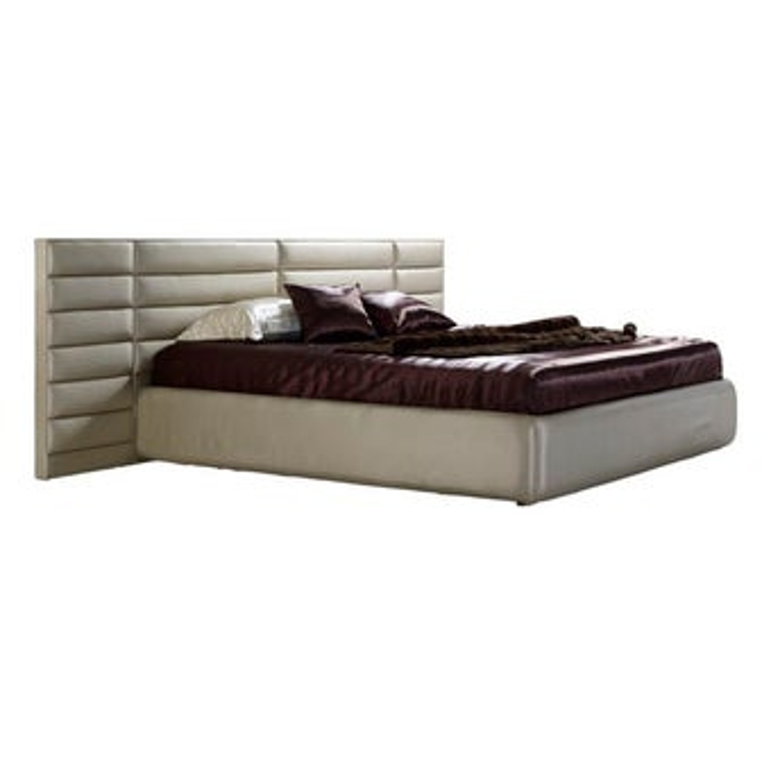 เตียงนอน ขนาด 6 ฟุต รุ่น Rufina สีทองมุก-00