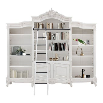 ตู้หนังสือ รุ่น INT2656 สีขาว-00