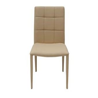 เก้าอี้ทานอาหาร เก้าอี้เหล็กเบาะหนัง รุ่น Yaris-SB Design Square