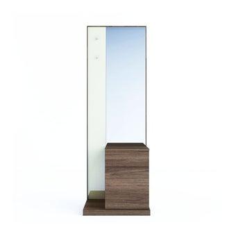 ชุดห้องนอน โต๊ะเครื่องแป้งแบบยืน รุ่น Tazzina สีสีลายไม้ธรรมชาติ-SB Design Square