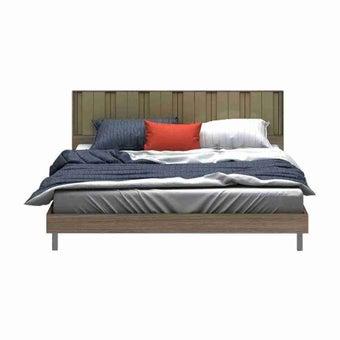 เตียงนอน ขนาด 6 ฟุต รุ่น Tazzina สีลายไม้ธรรมชาติ-03