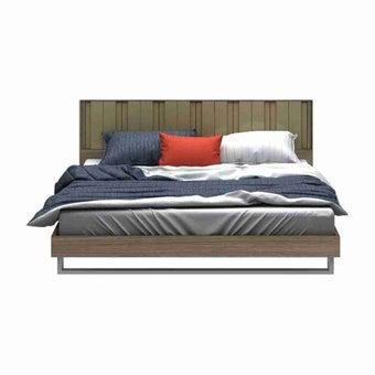 เตียงนอน ขนาด 6 ฟุต รุ่น Tazzina สีลายไม้ธรรมชาติ-02