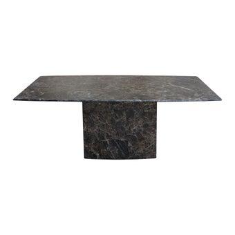 โต๊ะกลาง โต๊ะกลางหินล้วน รุ่น Fano สีสีน้ำตาล-SB Design Square