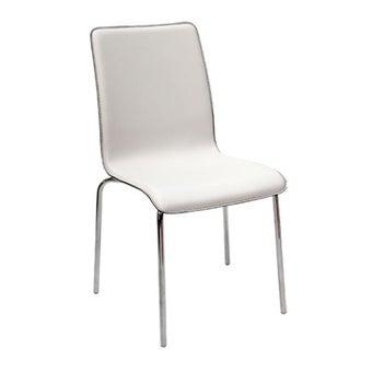 เก้าอี้ทานอาหาร เก้าอี้เหล็กเบาะหนัง รุ่น Hamish-SB Design Square