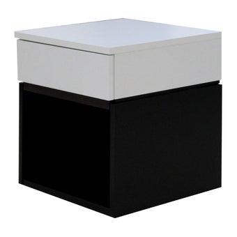 ชุดห้องนอน ตู้ข้างเตียง รุ่น Patme สีสีดำ-SB Design Square
