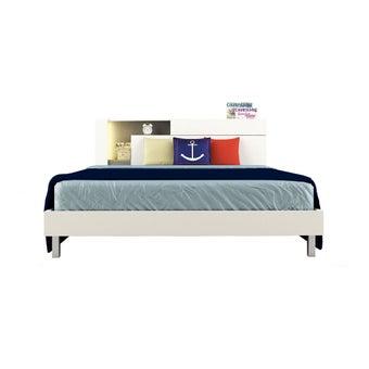 ชุดห้องนอน เตียง รุ่น Spazz สีสีขาว-SB Design Square