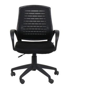 เฟอร์นิเจอร์สำนักงาน เก้าอี้สำนักงาน รุ่น Laciaสีดำ-SB Design Square