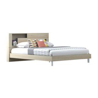 เตียงนอน ขนาด 6 ฟุต รุ่น Spazz โอ๊คอ่อน-00