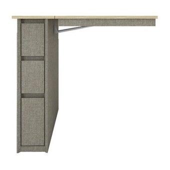 ชุดห้องนอน โต๊ะทำงาน รุ่น Minimo สีสีอ่อน-SB Design Square