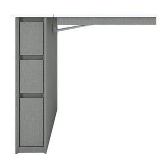 ชุดห้องนอน โต๊ะทำงาน รุ่น Minimo สีสีเทา-SB Design Square