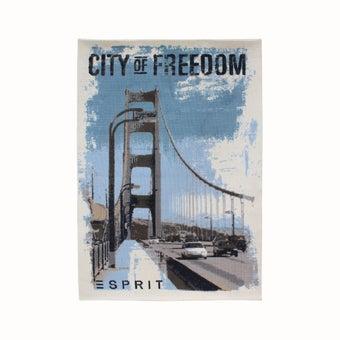 พรม#ESP-6192-01city of freedom สีฟ้า-01