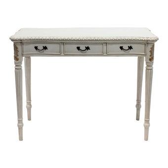 โต๊ะทำงาน รุ่น INT2809 สีขาว