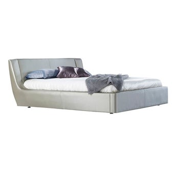 เตียงนอน ขนาด 5 ฟุต รุ่น Cira สีเงินมุก-00