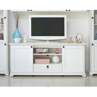 ชุดวางทีวี ไซด์บอร์ด รุ่น Melona สีสีขาว-SB Design Square