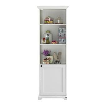 ห้องรับแขก ตู้สูง รุ่น Melona สีสีขาว-SB Design Square