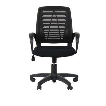 เฟอร์นิเจอร์สำนักงาน เก้าอี้สำนักงาน รุ่น Larryสีดำ-SB Design Square
