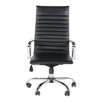 เฟอร์นิเจอร์สำนักงาน เก้าอี้สำนักงาน รุ่น Lyanสีดำ-SB Design Square