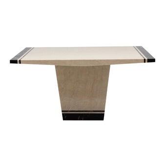 โต๊ะทานอาหาร โต๊ะอาหารหินล้วน รุ่น Famira-SB Design Square