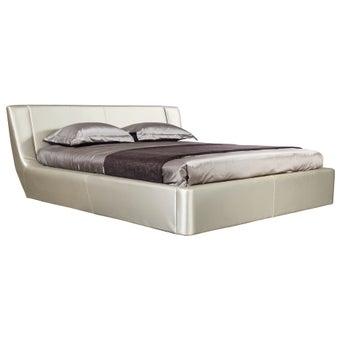 เตียงนอน ขนาด 6 ฟุต รุ่น Cira สีทองมุก