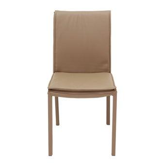 เก้าอี้ทานอาหาร เก้าอี้เหล็กเบาะหนัง รุ่น You-SB Design Square