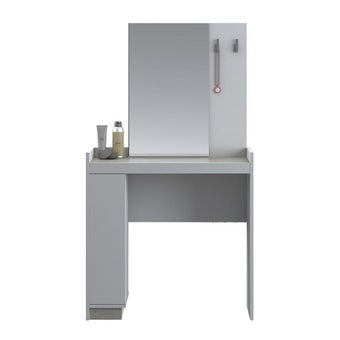 ชุดห้องนอน โต๊ะเครื่องแป้งแบบนั่ง รุ่น Econi สีสีขาว-SB Design Square