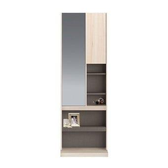 ชุดห้องนอน โต๊ะเครื่องแป้งแบบยืน รุ่น Spazz สีสีโอ๊คอ่อน-SB Design Square
