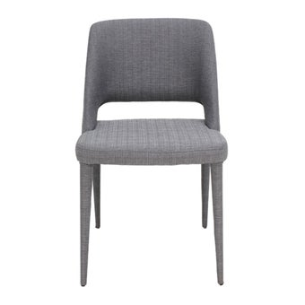 เก้าอี้ทานอาหาร เก้าอี้เหล็กเบาะผ้า รุ่น Yulia-SB Design Square