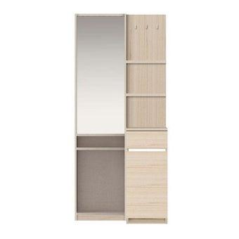 ชุดห้องนอน โต๊ะเครื่องแป้งแบบยืน รุ่น Ricchi สีสีโอ๊คอ่อน-SB Design Square