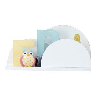 ชุดห้องนอนเด็ก ชั้นแขวน รุ่น Arty สีสีขาว-SB Design Square
